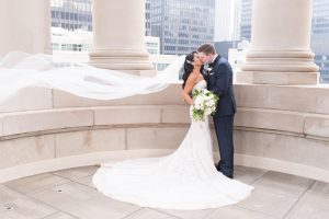 Traditional Elegant White Bridal Bouquet Chicago