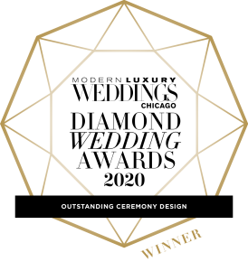 2020 ModLux Weddings Diamond Wedding Award for Outstanding Ceremony Design