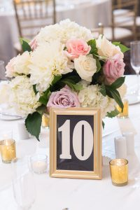 Traditional Elegant Wedding Reception Centerpieces Flowers Londonhouse Chicago